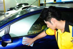 ล้างรถ เช็ดสี รถยนต์